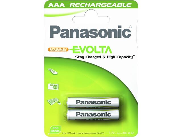Panasonic Akku Evolta AAA geladen